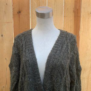 Anthropologie Sweaters - Sanctuary Anthropologie Long Cable Knit Cardigan